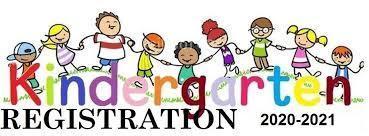Kindergarten Registration for 2020-2021 school year