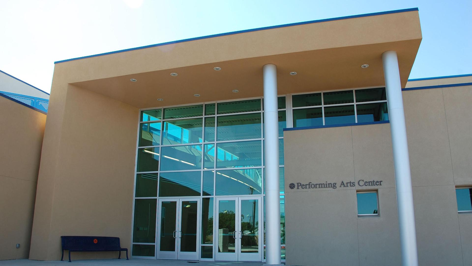 Front of PAC building