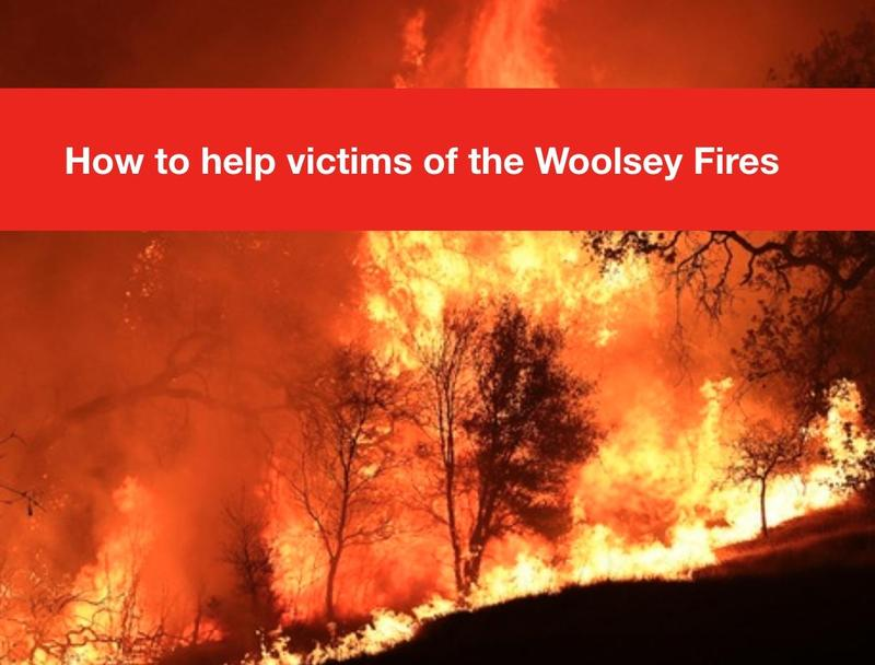 Support for Victims of the Woolsey Fires Thumbnail Image