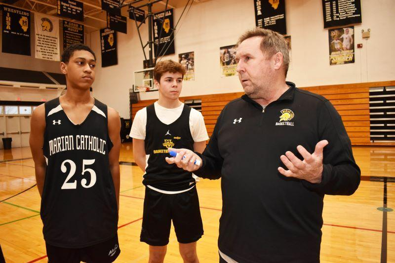Marian Catholic's Coach Taylor records 300 wins Featured Photo