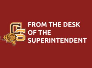 Superintendents Desk