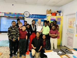 Mrs. Frazier and Class