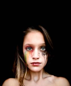 Kylie Mavrakis, one of Mrs. DeVinny's Digital Media students, received an Honorable Mention competing with over 6,000 entries in the 2019 Jostens Photo Contest for this photo, Emotion