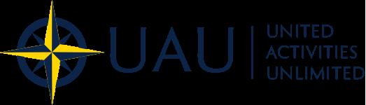 UAU logo with compass