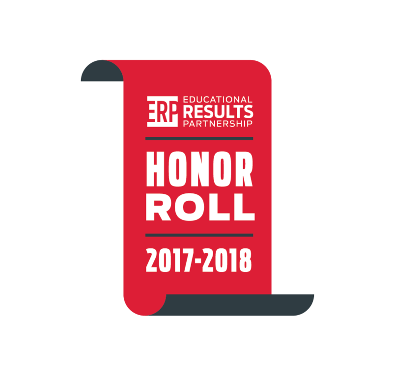 South Pointe recognized as a 2017 - 2018 Educational Results Partnership (ERP) Honor Roll School for high achievement and student success! Featured Photo
