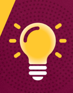 Lightbulb icon for innovator award