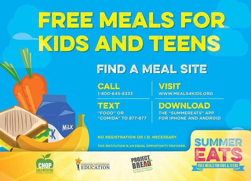 Find a Summer Meal Site Near You! Featured Photo