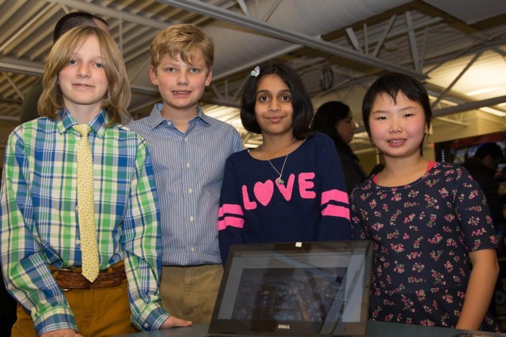 Sixth Grade Science Exhibition - photo by Cameron Ryan