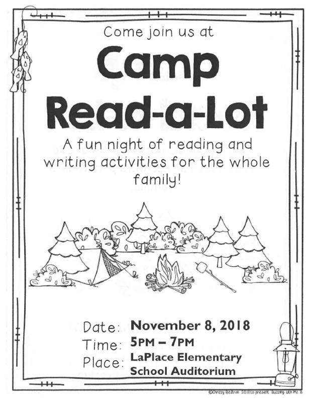 Camp Read-A-Lot is Happening This Thursday, Nov 8th! Thumbnail Image