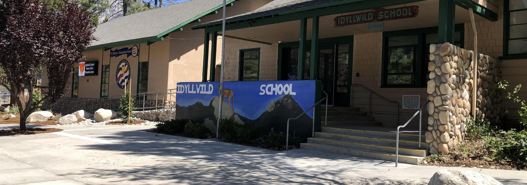 Front of Idyllwild School