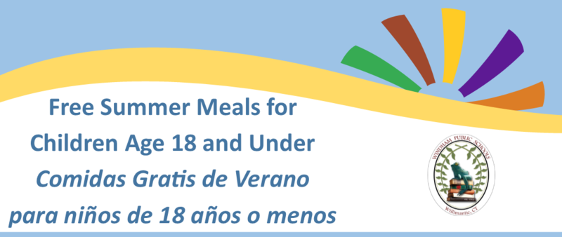Free Summer Meals for Children Age 18 and Under Thumbnail Image