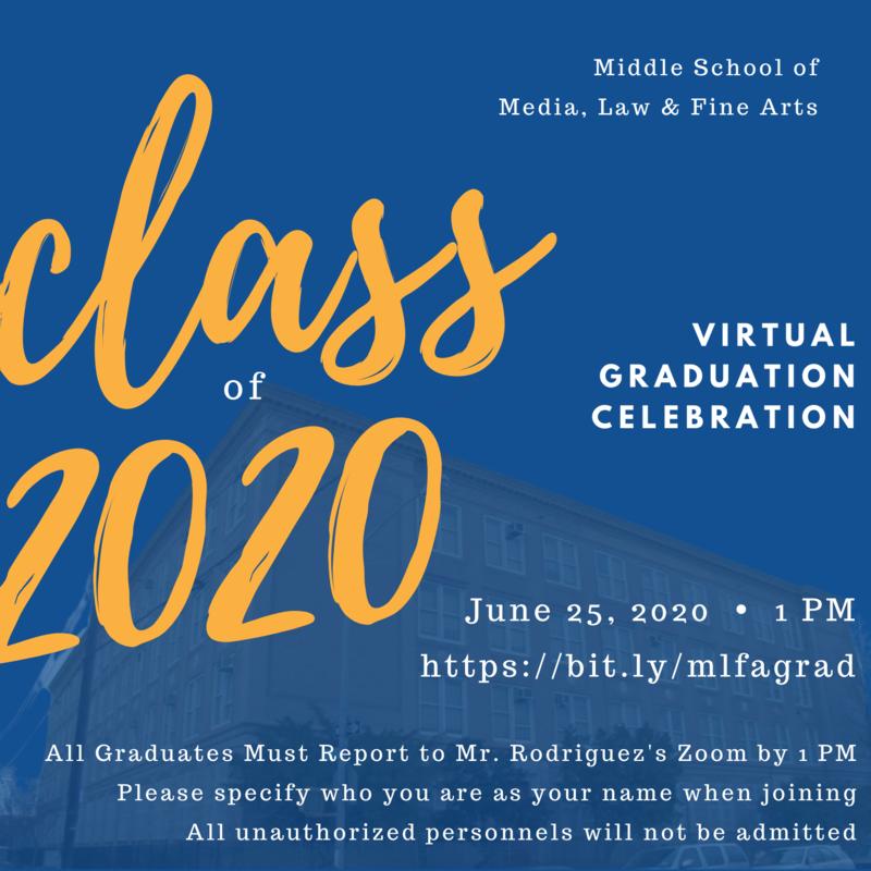 2020 Virtual Graduation Featured Photo