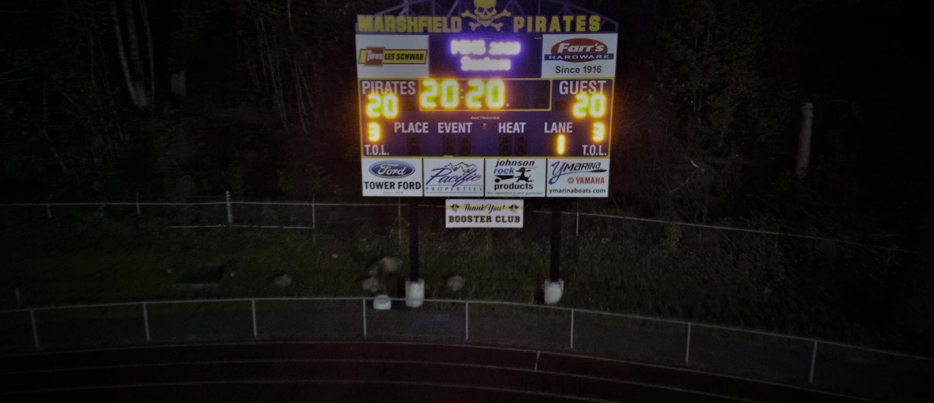 MHS Scoreboard - Class of 2020