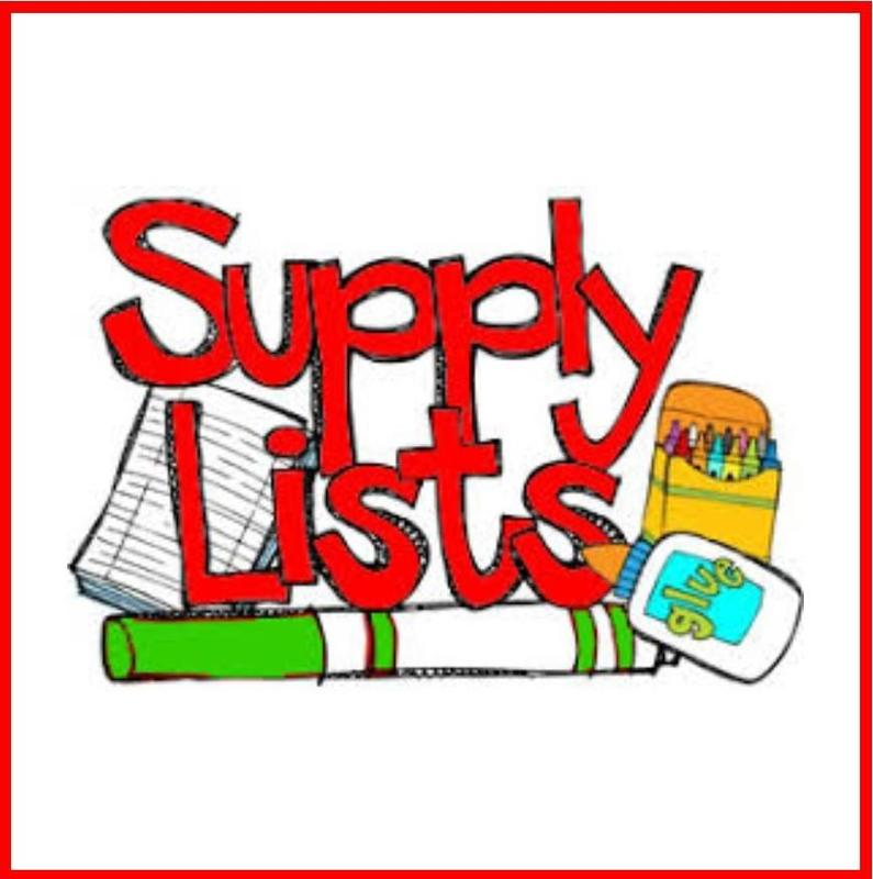 2019-2020 School Supply Lists Featured Photo