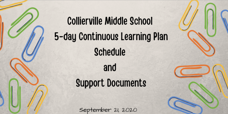 CMS 5-Day Continuous Learning Plan: Schedule and Support Documents Featured Photo