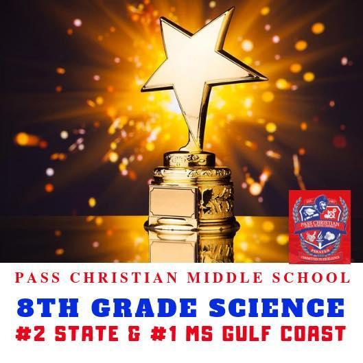 PCSD 8th Grade Science #2 Stage #1 Gulf Coast