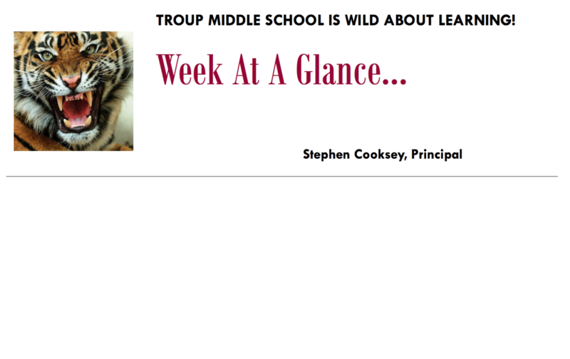 Principal's Notes March 30-April 3 Featured Photo