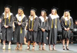 TKHS seniors received numerous scholarships, honors and awards.