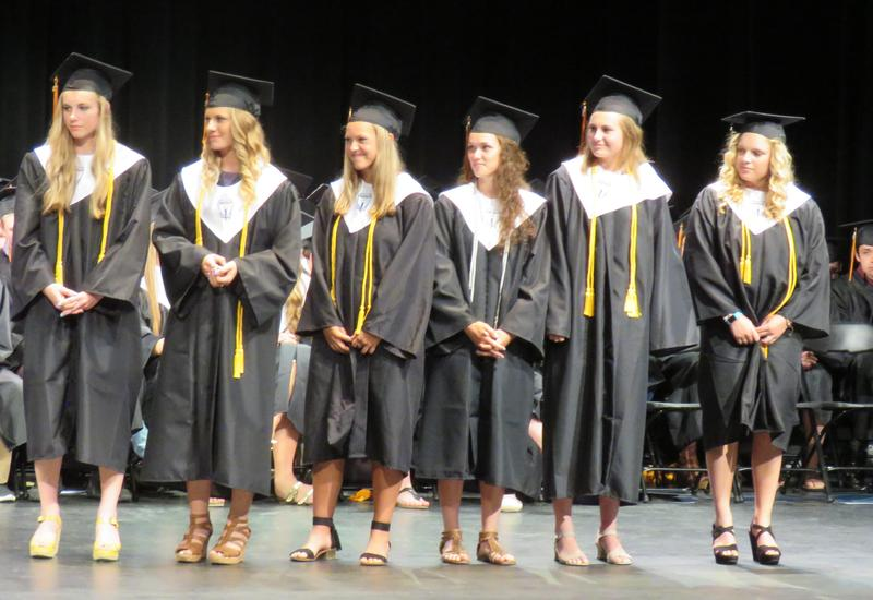 TKHS seniors receive scholarships, honors and awards.