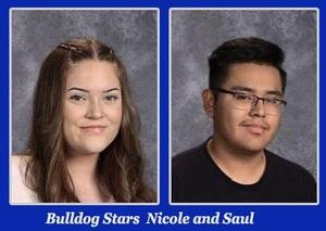 Nicole Aguilar and Saul Antunez!