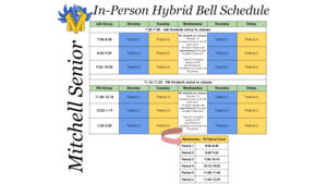 In Person Bell Schedule