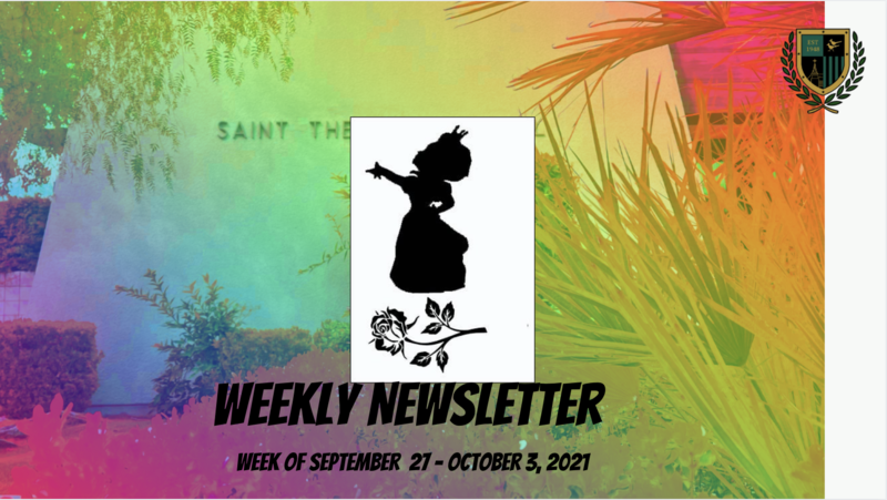 Family Newsletter 09.27.2021 Featured Photo