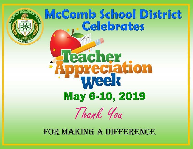 McComb School District celebrates teacher appreciation