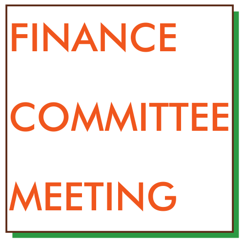 Finance Committee Meeting - link to agenda and meeting location Featured Photo