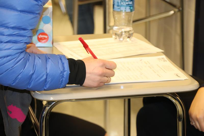 Maspeth High School Parent Conferences Draw Hundreds Featured Photo