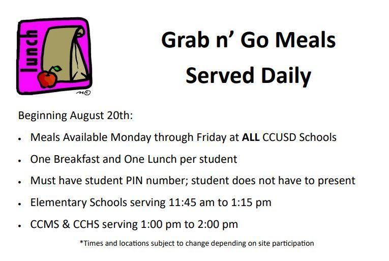 Grab and Go Lunches/Breakfasts! Thumbnail Image