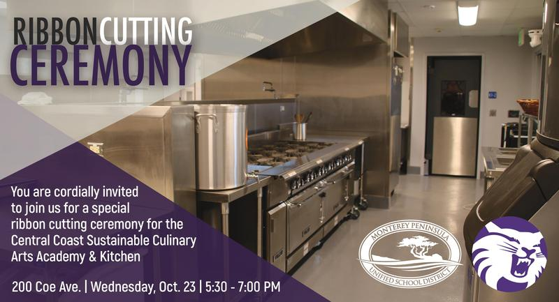 Central Coast Sustainable Culinary Arts and Academy Ribbon Cutting Ceremony Featured Photo