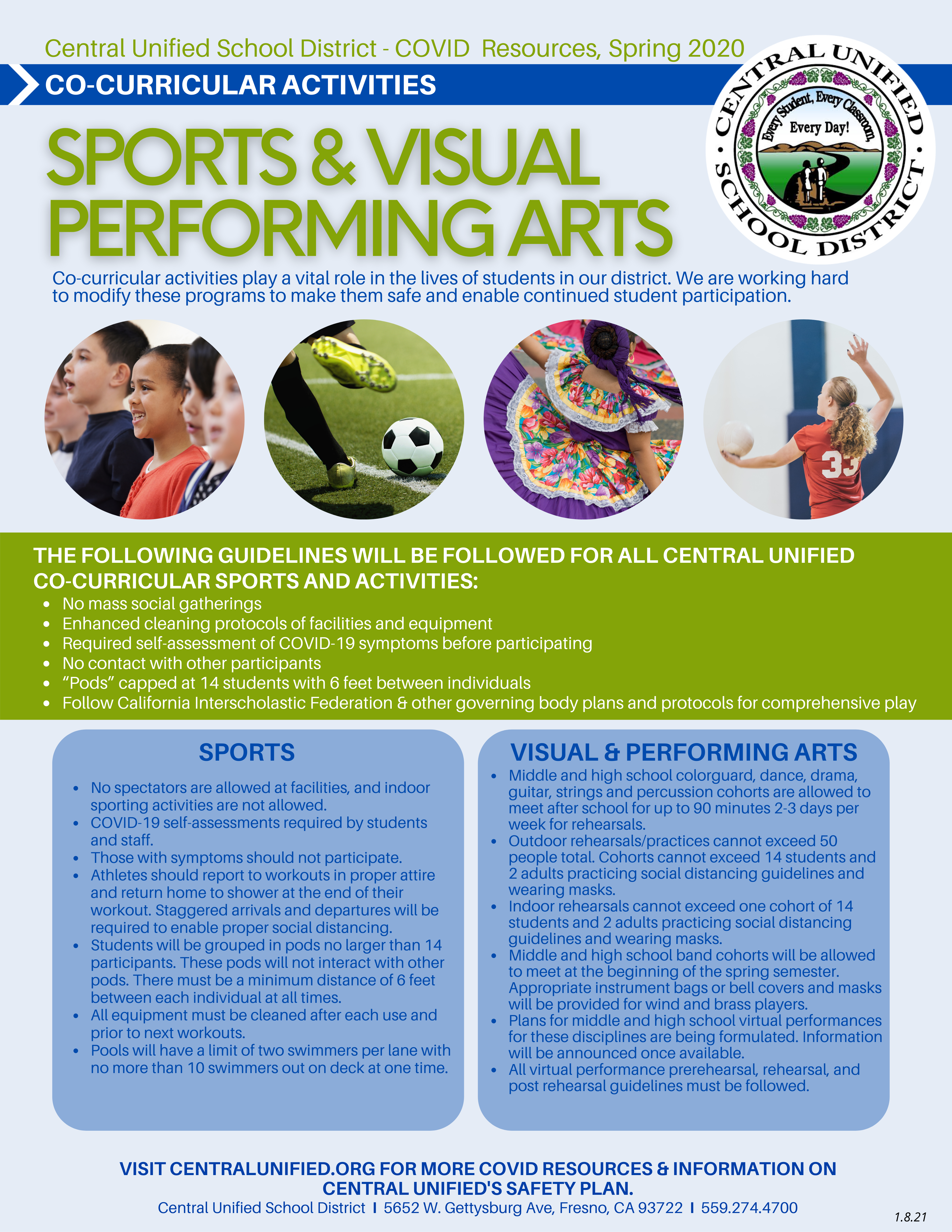 Sports and Performing Arts