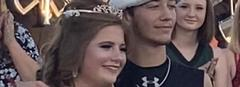 Kelly Salisbury and Colby Wilhelm Named 2020 Homecoming Queen and King
