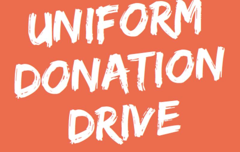 Uniform Donation Drive Featured Photo