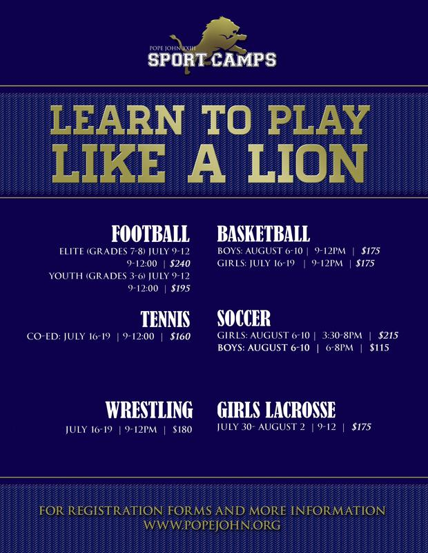 PJ Sports Camps updated
