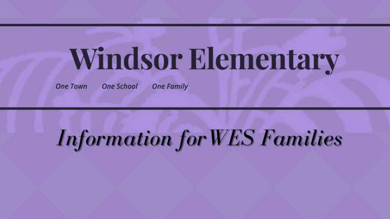 Information For WES Families