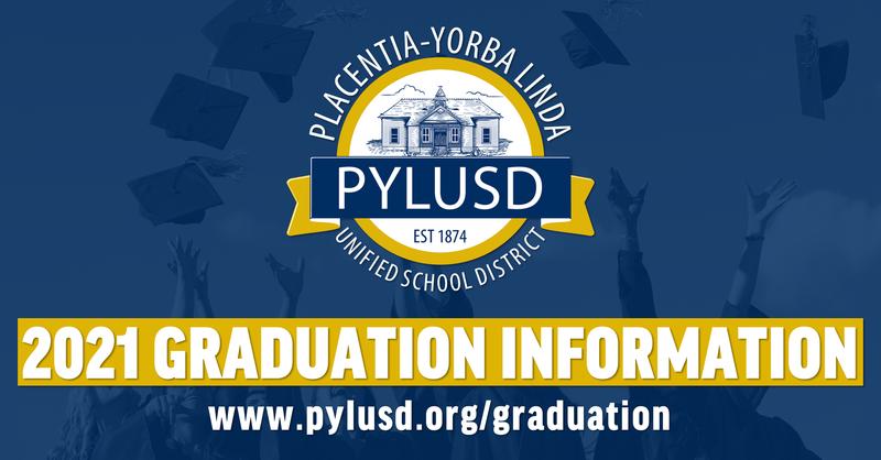 Graduation information.