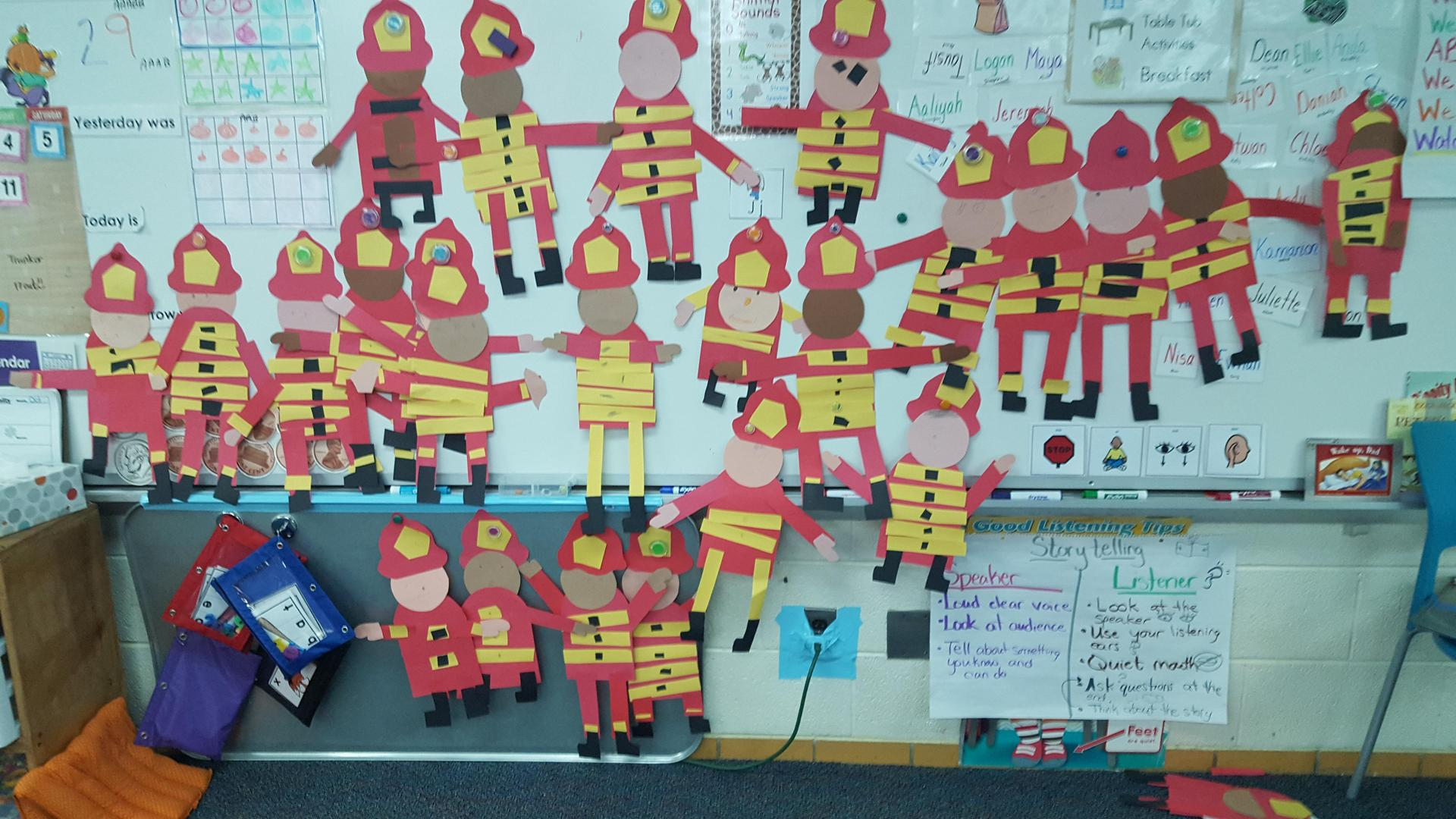 our firemen creations