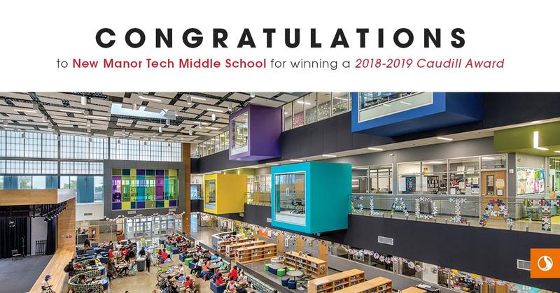 Manor New Tech Middle School Earns Top Award for Excellence in Planning and Design Thumbnail Image