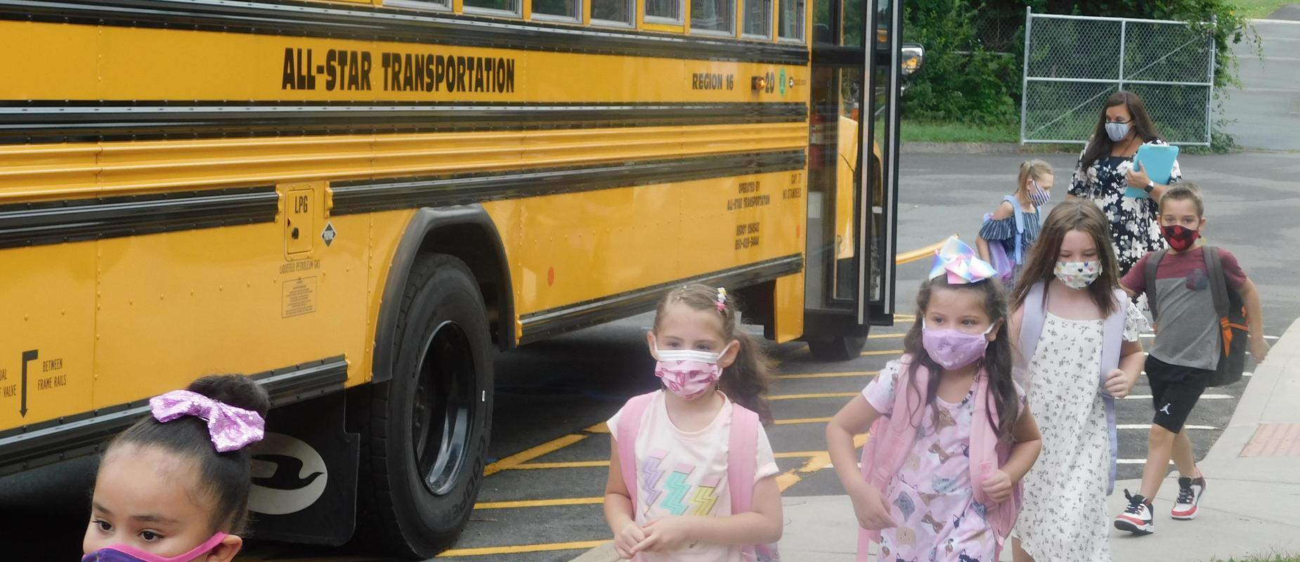 1st day of school at Laurel Ledge