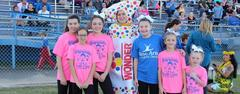 A walking Wonderbread was among the costumed characters at the 3rd annual WSISD Healthy Families Rally on Oct. 16.