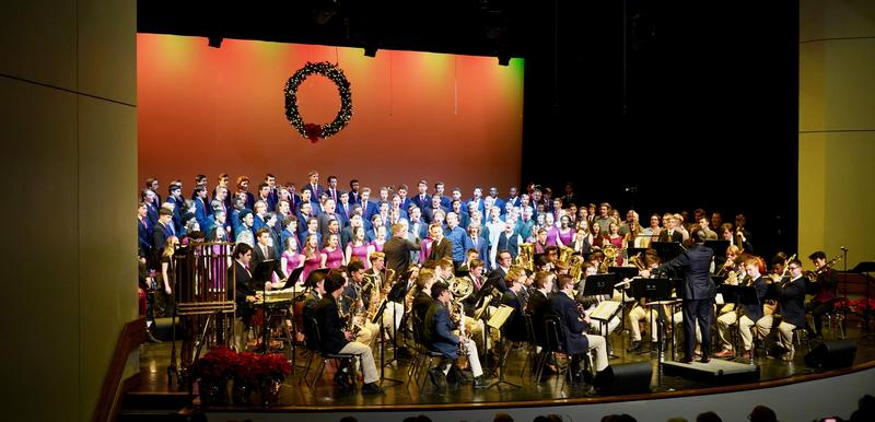 Christmas Departmental Concert Tickets Featured Photo