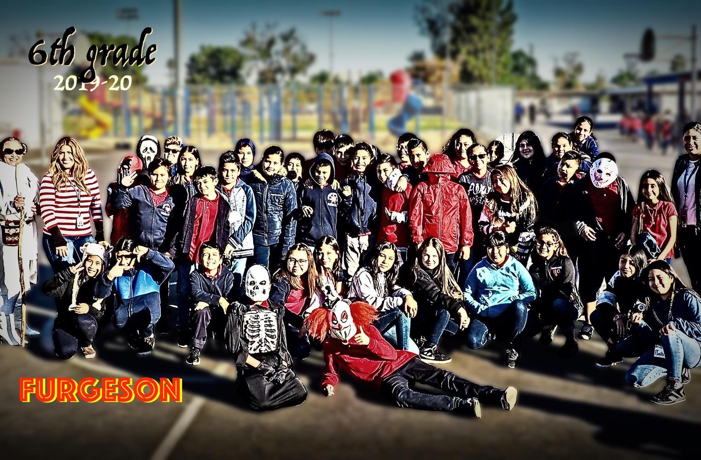 6th grade class Furgeson