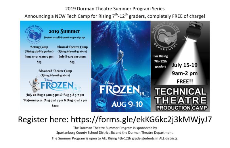 summer program flier