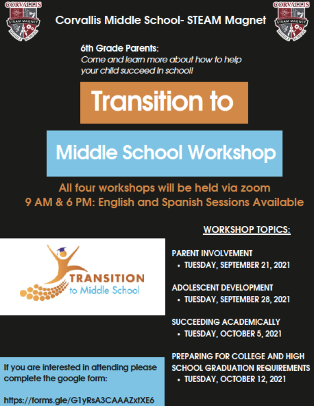 Transition to Middle School Featured Photo