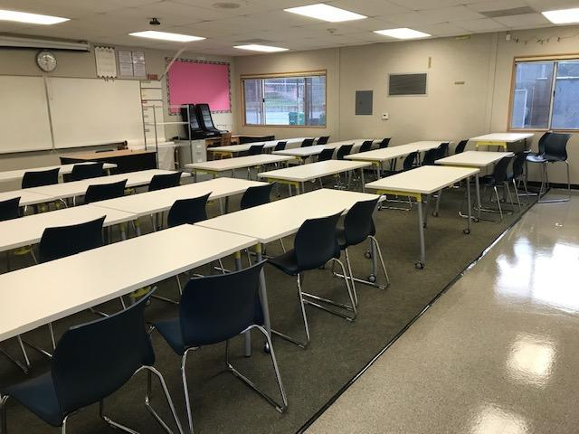 New furniture at EWMS