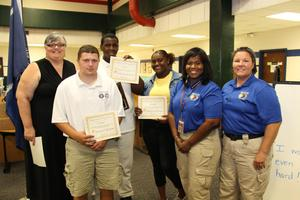 B-L High School Students Receive Diplomas From Law Cadet Academy