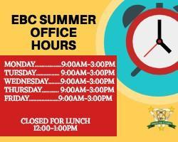 EBC Summer Hours! Featured Photo