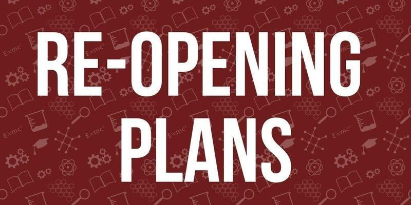 re-opening plans