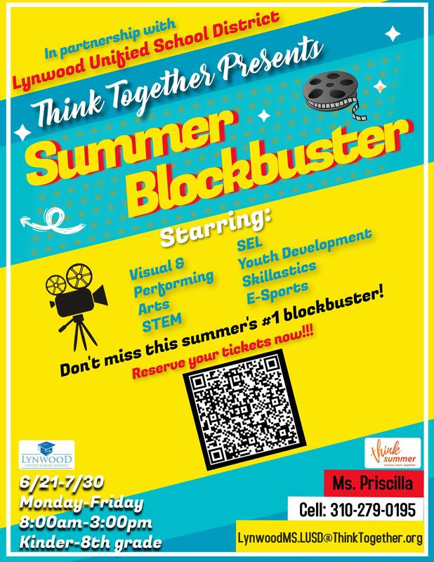 Think Together Summer Program Featured Photo